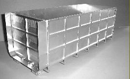 Leimbach 9366NT Hoher Abrollcontainer als Bausatz für Tamiya