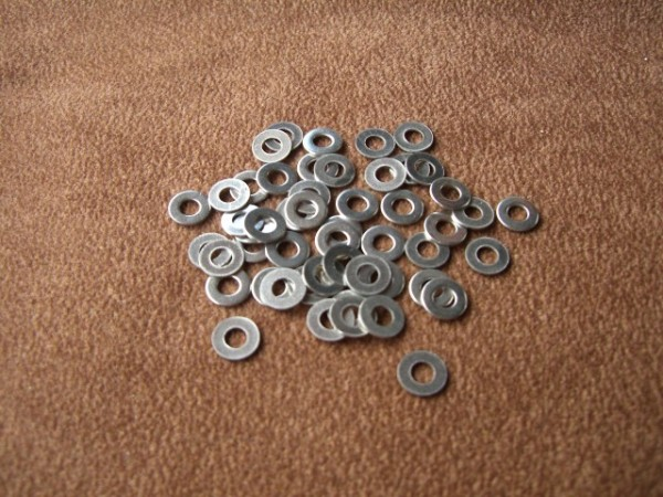 Scheibe 3,2mm Niro (50 Stck) DIN125A