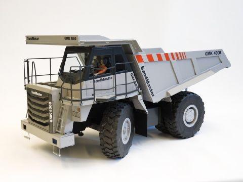 Servonaut Sandmaster GMK4000 Großmuldenkipper