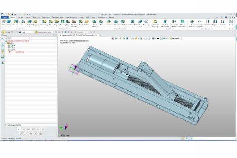 CAD-Konstruktionsarbeiten