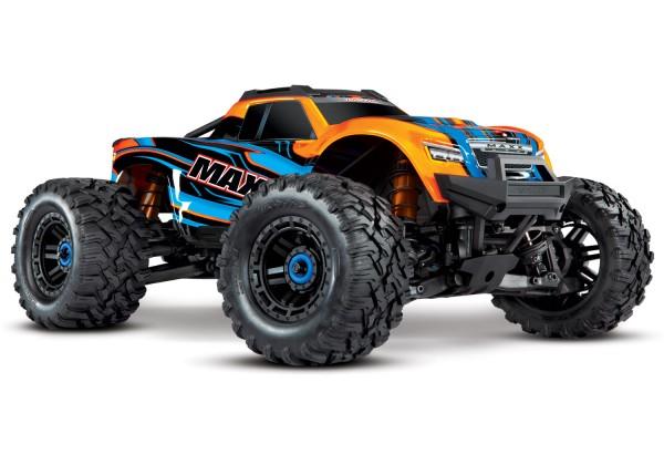 Traxxas 89076-4ORNG MAXX 1:10 RTR TSM SR VXL-4S ESC without battery/charger 1/10 Monster-Truck Brushless orange