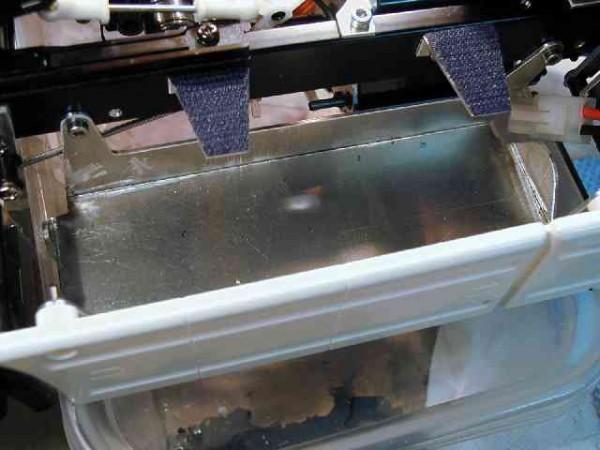Akkufach für TAM 2-Achser, rechts