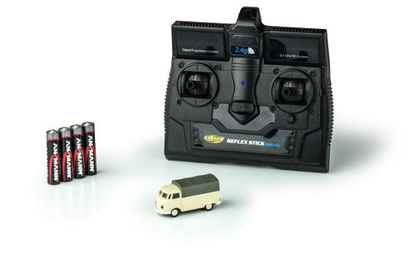 Carson 500504117 1:87 VW T1 Bus Pritsche 2.4G 100% RTR