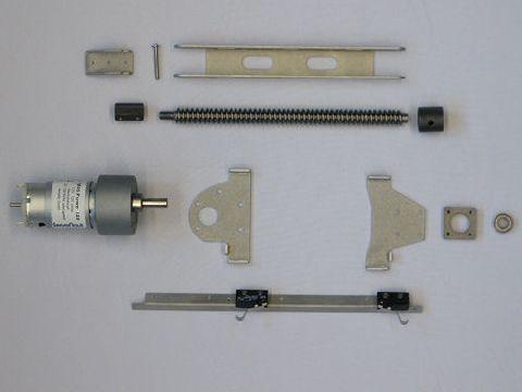 SPIN430TAM Spindelantrieb für Sandmaster 430 mit Hilfsrahmen