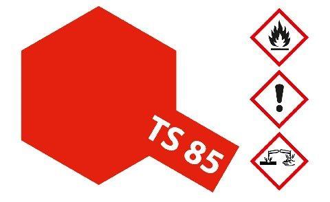 Tamiya 300085085 TS-85 Ferrari red F60 gloss 100ml