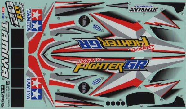 Tamiya 30945657 Super Fighter GR Stickers