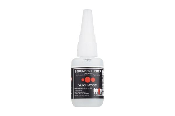 Yuki 650002 super glue medium viscosity 20g long durability