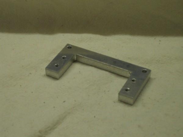 Schaltservohalteplatte für Trial-Trucks