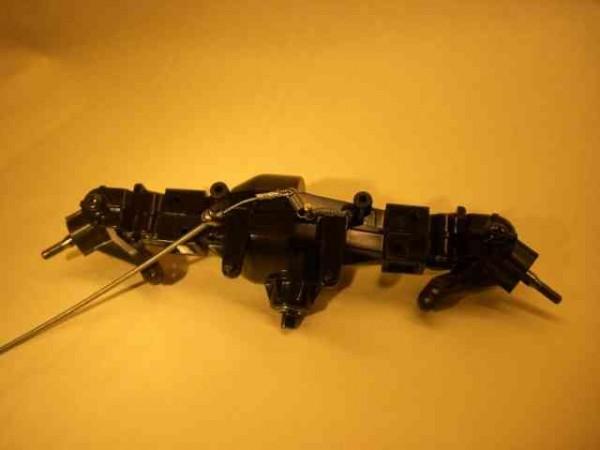 Tamiya TLT axle with cable lock