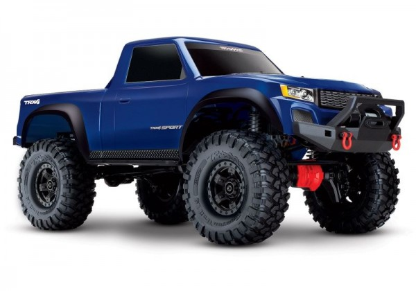 TRAXXAS 82024-4BLUE TRX-4 Sport 4x4 blue RTR excl battery/charger **OFFER** 1/10 4WD Scale-Crawler Brushed