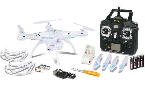 Carson 500507101 X4 Quadcopter 360 FPV, WIFI, 100% RTF