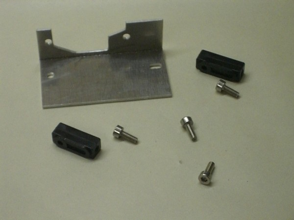 servo plate for upside-down axles
