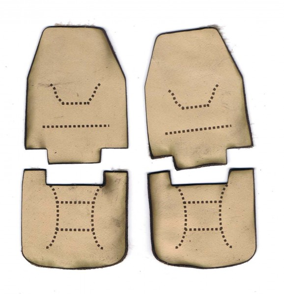 leather seats, beige for Tamiya King-Hauler and Aeromax