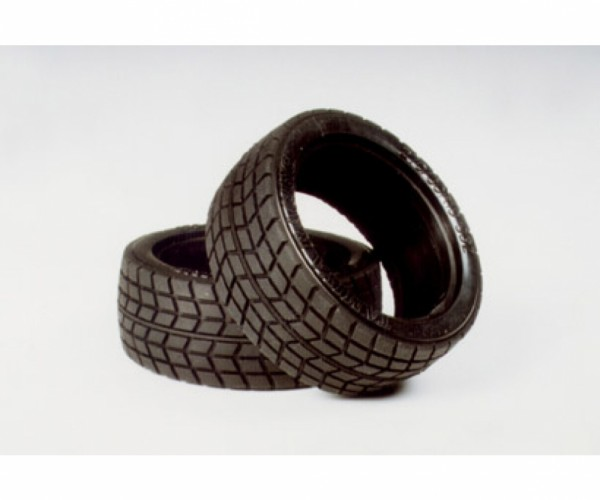 Tamiya 300050419 1:10 low profile tyres (2) 26mm