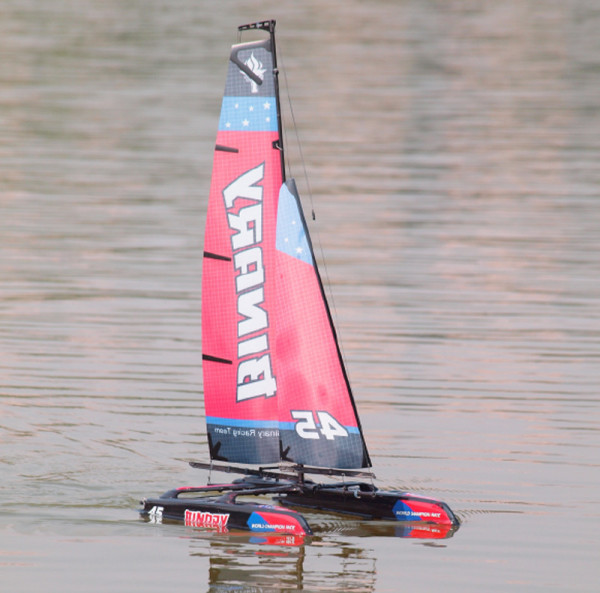 Joysway 8807R Binary Katamaran Sailing boat 2 channel