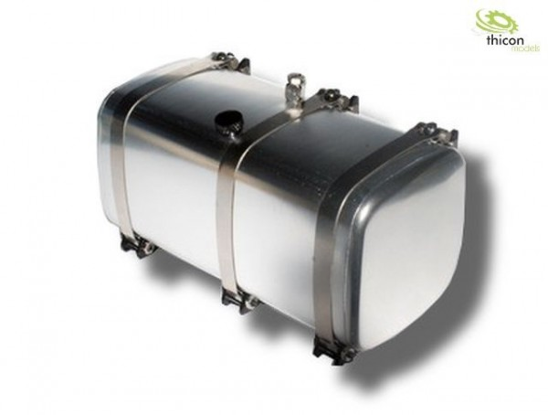 Thicon 50060 1:14 Fuel / hydraulic tank with 108 mm tank cage Alu