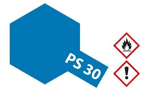 Tamiya 300086030 PS-30 Brillant Blau Polycarbonat 100ml