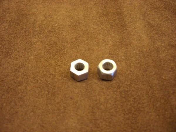 hexagon adaptors 8mm (2 pieces)