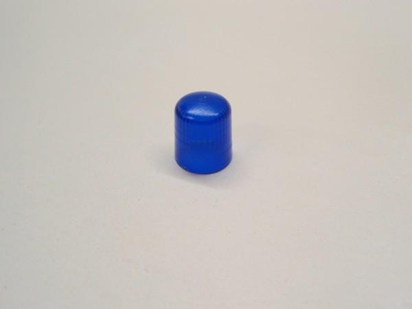 Pistenking KL16-B Rundumleuchte 1:16, Kappe blau, eckig