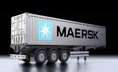 Tamiya 300056326 40ft Container Semi-Trailer