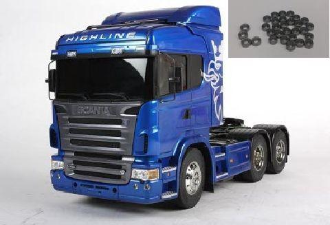 Tamiya 300056327 Scania R620 6x4 Sondermodell Blue Edition