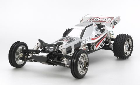Tamiya 300047347 1:10 RC Racing Fighter Chrome (DT-03)
