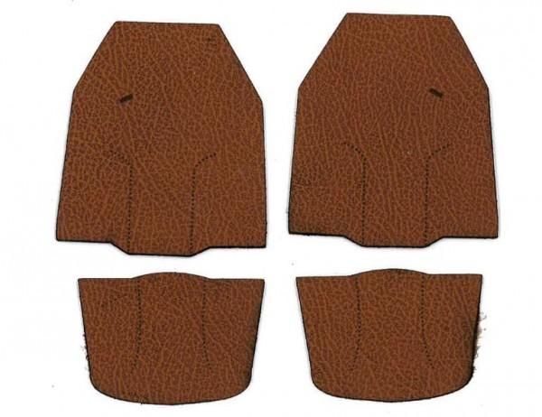 leather seats, brown for Tamiya MAN
