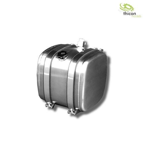 Thicon 56027 1:14 fuel / hydraulic tank 52,5mm with tank holder alu