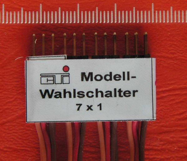cTi Modell-Wahlschalter ( für Modell 1)