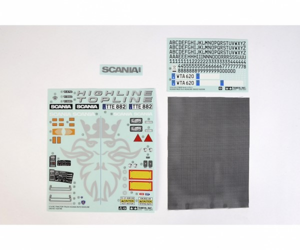 Tamiya 309495581 Scania R620 Stickers