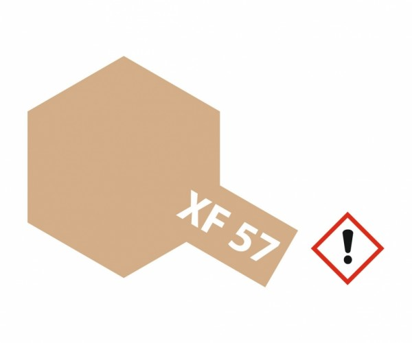Tamiya 300081357 XF-57 Buff (Gelb-Braun) matt 23ml
