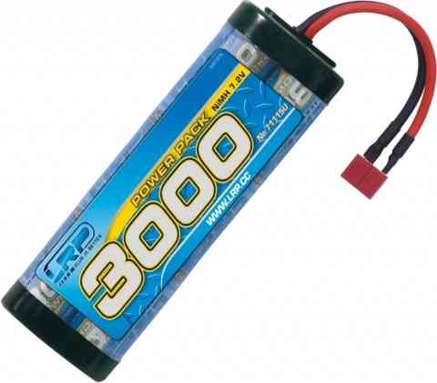 LRP 906005 LRP Hyper Pack 3000 - 7,2V with T-plug