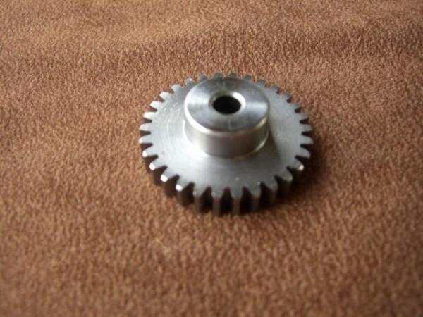 Zahnräder Modul 1,0 25Z geradeverzahnt Stahl