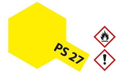 Tamiya 300086027 PS-27 Neon yellow Polycarbonat 100ml