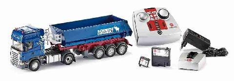 Siku 6725 Scania with tipping trailer remote control and charger