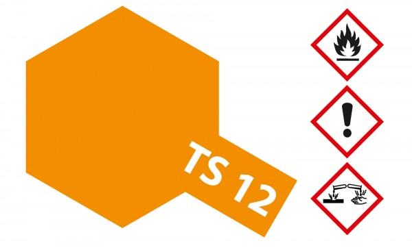 Tamiya 300085012 TS-12 orange 100ml