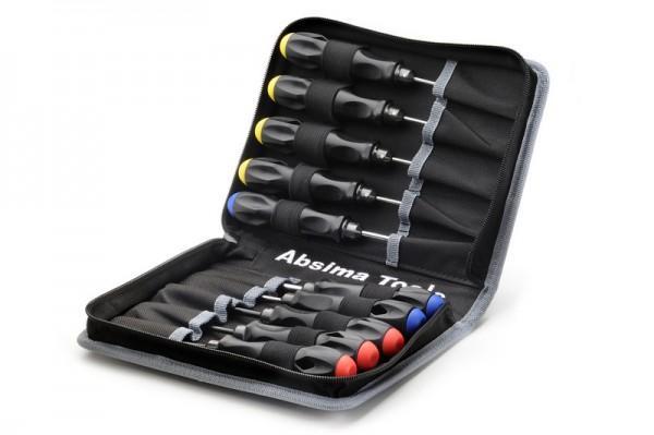 Absima 3000057 Werkzeugtasche inkl. 10 Werkzeugen