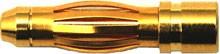 Goldstecker 4mm