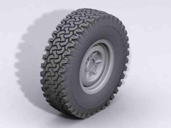 RC4WD Z-T0005 Dirt Grabbers 1.9 (2 pieces)