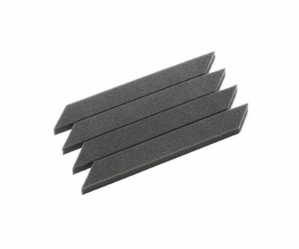 Tamiya 300053255 M-Chassis tyre inserts 60D hard (4) grey