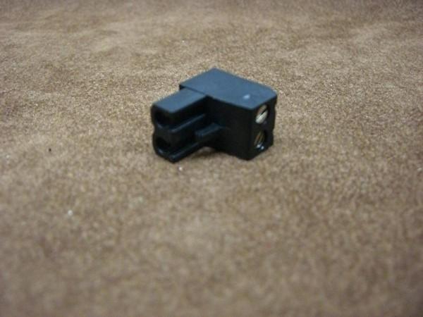 SGS Ersatzstecker groß, schwarz