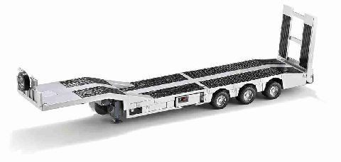 Siku 6723 Electronic 3-axled low loader with battery