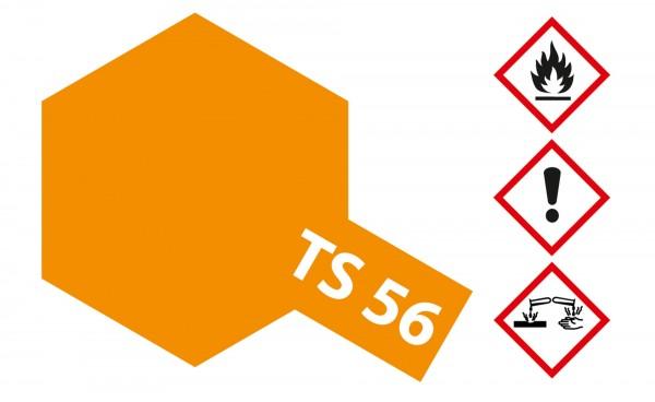 Tamiya 300085056 TS-56 brilliant orange 100ml