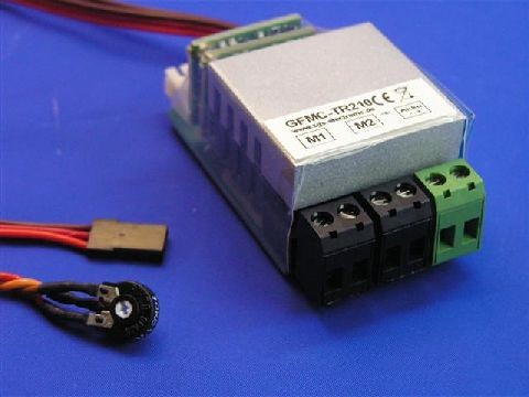 SGS GFMC-TR210 tractor speedcontroller with electronic differential (2x10A)