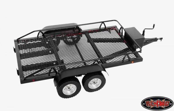 RC4WD Z-H0003 BigDog 1/10 Dual Axle Scale Car/Truck Trailer