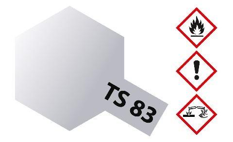 Tamiya 300085083 TS-83 metallic silver gloss 100ml