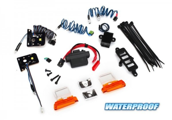 Traxxas 8035 Light Set Ford Bronco TRX-4 with Power-Supply