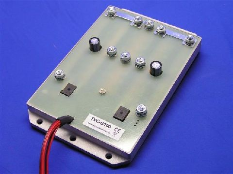 SGS TVC-B100 double speed controller for tanks (2x100A)