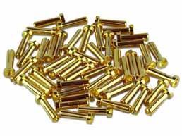 4mm Goldkontakt Winkelstecker