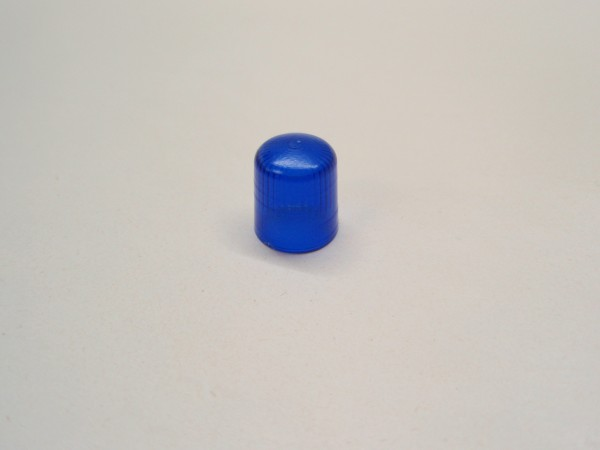 Pistenking RX12-B Rotating Beacon 1:12, Kappe blue, round